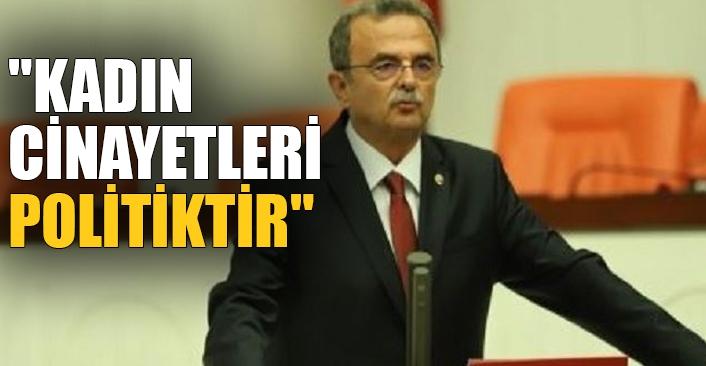 CHP'li Girgin: İktidar kadın cinayetlerinin önlenmesinde üzerine düşeni yapmıyor