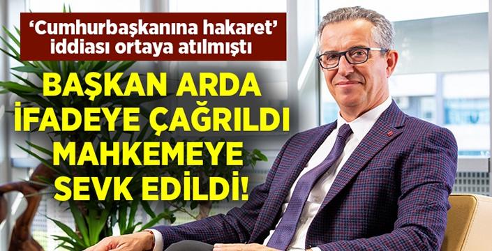 Gaziemir Belediye Başkanı Halil Arda mahkemeye sevk edildi!