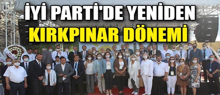 İYİ Parti İzmir'de Kırkpınar güven tazeledi